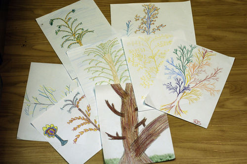 Fractal drawings blog